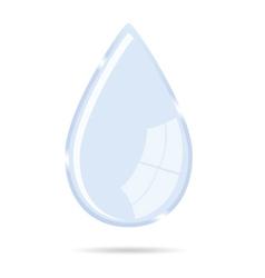 waterdrop icon vector image