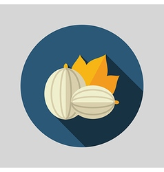 Gooseberry flat icon berry fruit vector