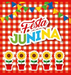 Festivity june vector