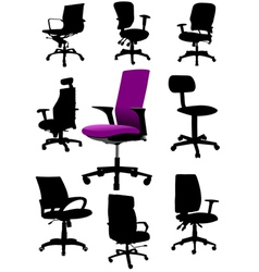 Al 0326 office chair vector