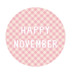 Happy november background4 vector