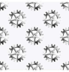 Modern mechanism seamless background vector