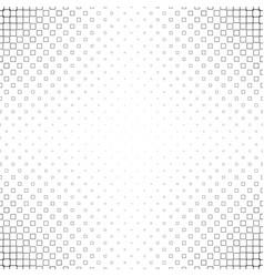 Black and white square pattern - background vector