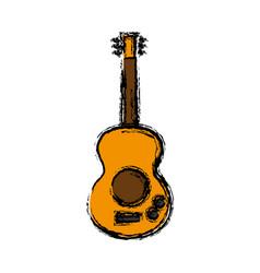 Guitar icon image vector