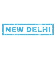 New Delhi Rubber Stamp vector image vector image