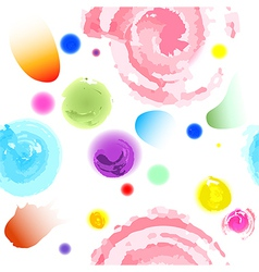 Seamless water colors pattern vector