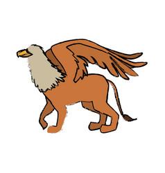 Griff greek mythological creature beast image vector