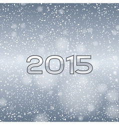 2015 falling snow blue vector