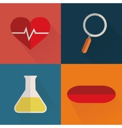 Medical objects vector