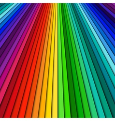 Abstract color background spectrum lines vector image