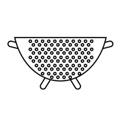Bowl icon kitchen and cooking design vector