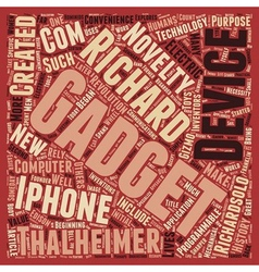 How gadgets make history text background wordcloud vector