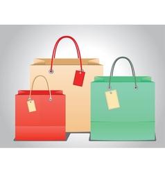 Shopping bag design6 vector