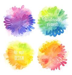 watercolor2 vector image