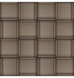 Wicker skin pattern vector