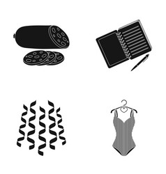 Sports celebration and other web icon in black vector