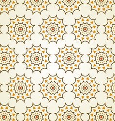 Classic gear or cogwheel pattern on pastel color vector