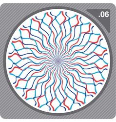 abstract circular decorative ornament vector image