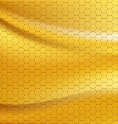 Golden metallic seamless texture vector image