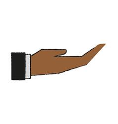 Hand draw vector