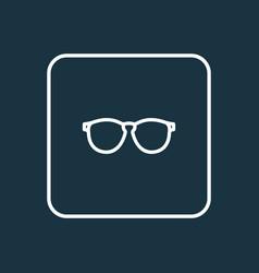sunglasses outline symbol premium quality vector image