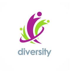 Diversity logo vector