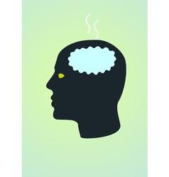 Fried brain vector