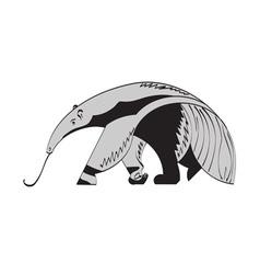 Giant anteater vector