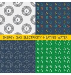 Set pattern for energy companies energy vector