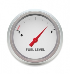 vector fuel level vector image