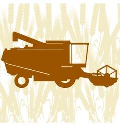 Combine harvester-1 vector