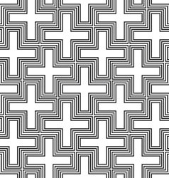 Hinduism swastika ornament pattern vector