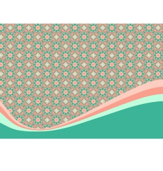 Background with small floral elements vector