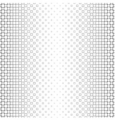 Black and white square pattern - geometrical vector