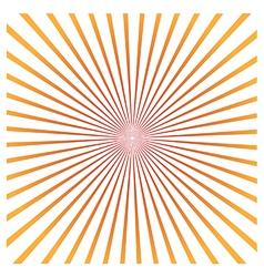 Sun rays vector image