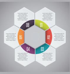 Infographic presentation design vector