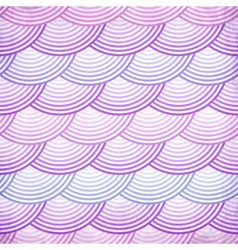 Pink retro fish scales seamless pattern vector
