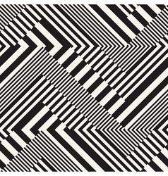 stripes chevron vector image vector image