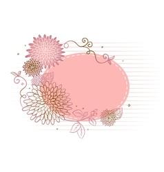 Floral backgrond vector image