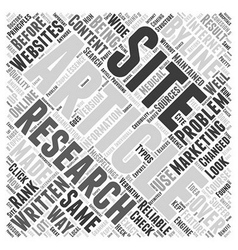 How article marketing has changed online research vector
