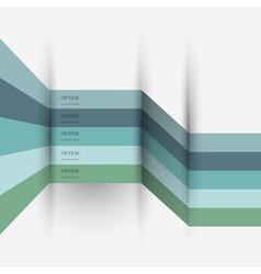Infographics design variation 4 vector image