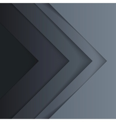 Abstract grey triangle shapes background vector