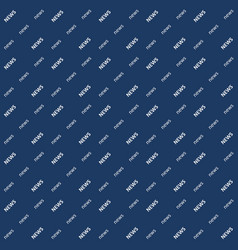 Background news the word seamless pattern vector
