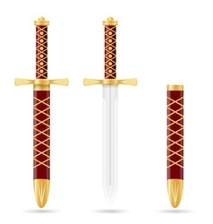 Battle dagger 02 vector