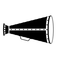 Megaphone old retro vintage icon stock vector