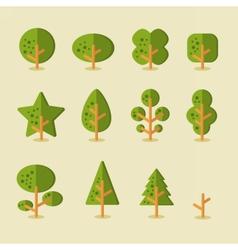 TreeSet01 vector image