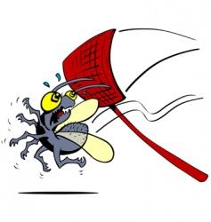 shoo fly vector image