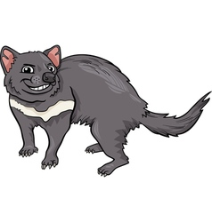 Tasmanian devil cartoon vector