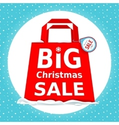 Great christmas sale holiday sale with vector