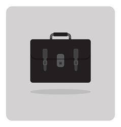 flat icon school bag vector image vector image